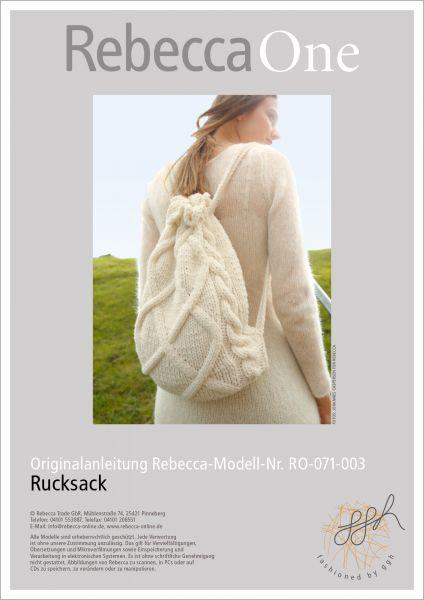 Strickanleitung - Rucksack
