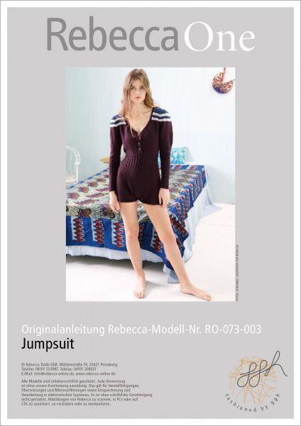 Strickanleitung - Jumpsuit