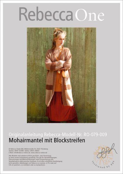 Anleitung - Weiter Mohairmantel