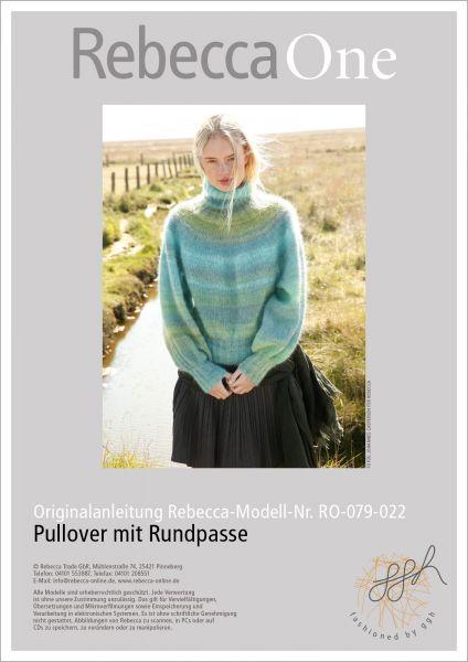 Anleitung - Pullover mit Rundpasse