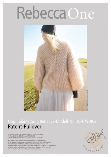 Anleitung - Patent-Pullover
