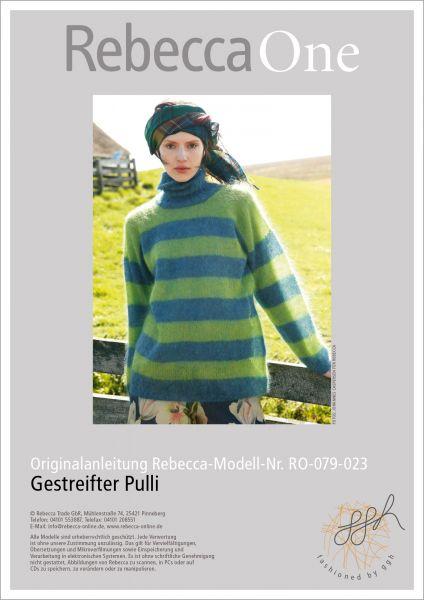 Anleitung - Gestreifter Pulli