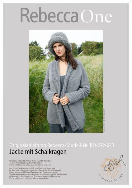 Strickanleitung - Jacke Mathilda